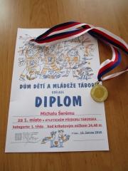 Zlatá medaile pro ZŠ Želeč