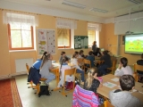 Návštěva partnerské školy z Polska